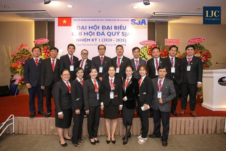 CHÚC MỪNG TÂN PHÓ CHỦ TỊCH SJA NHIỆM KỲ I (2020- 2025)