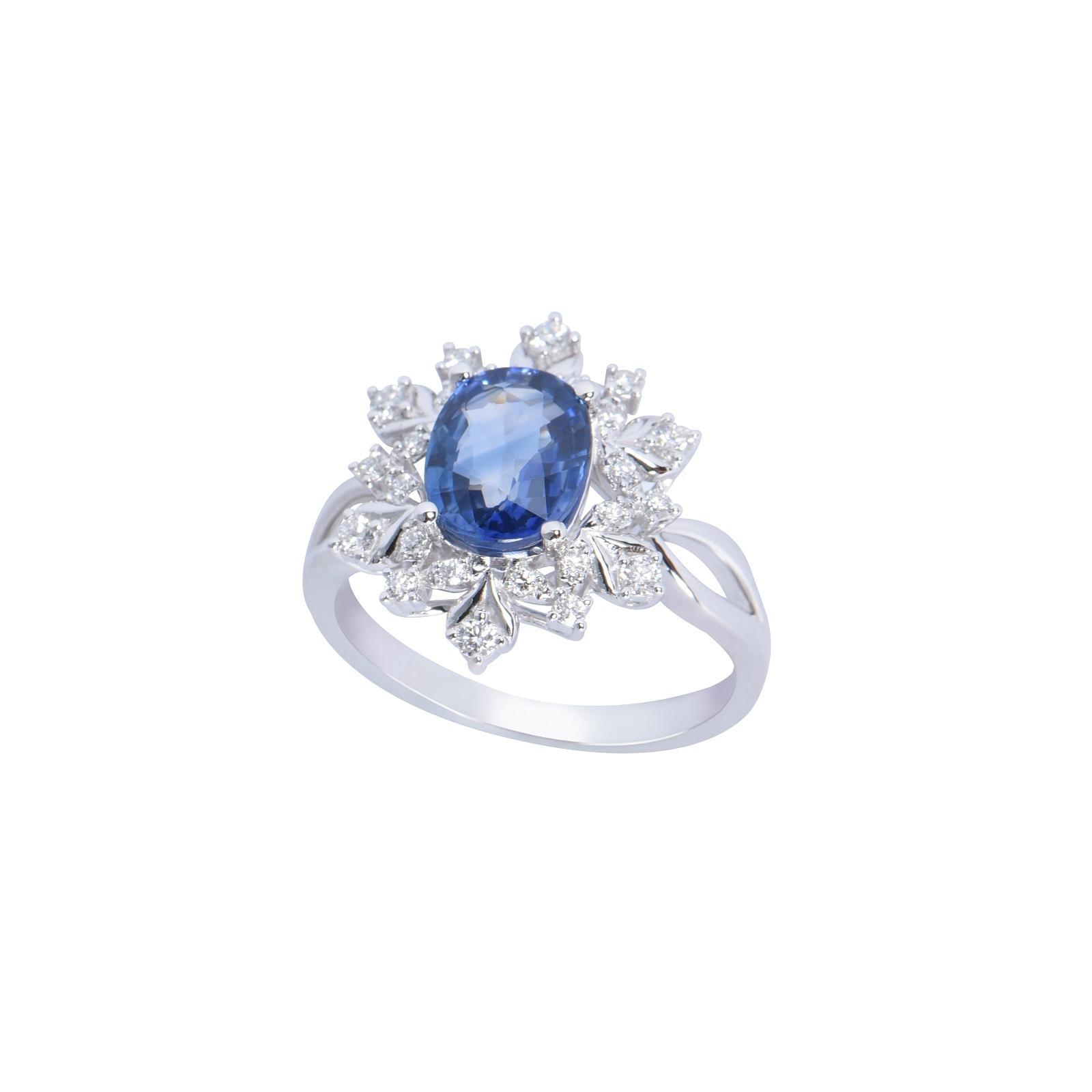 Nhẫn đá Sapphire 20N063.2TI