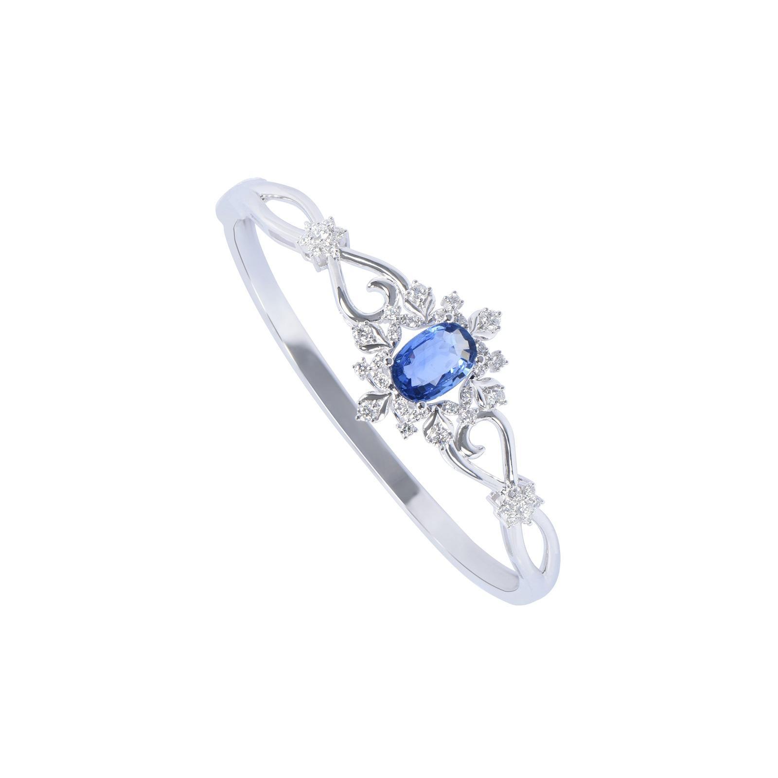 Vòng tay đá Sapphire 20V063.2TI