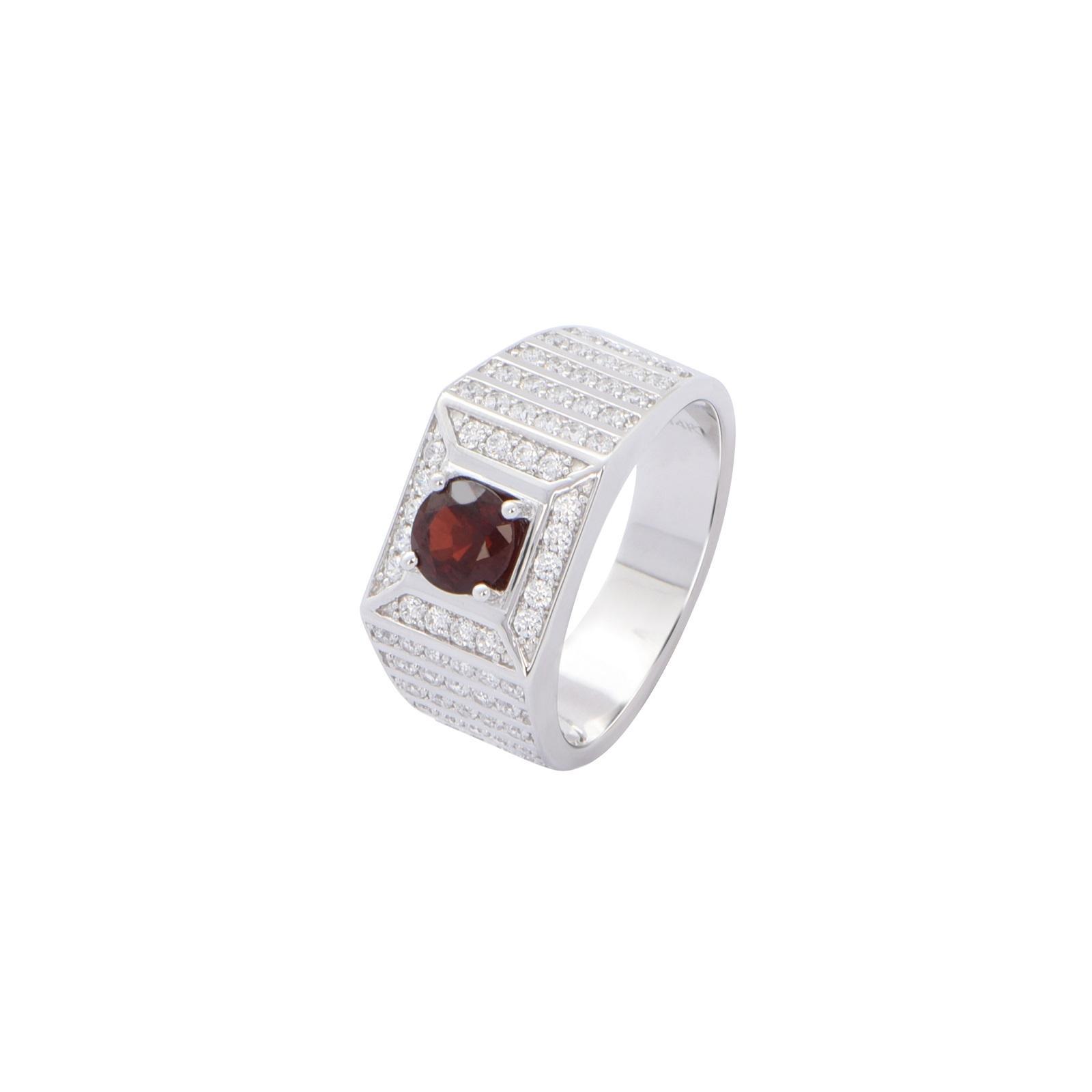 Nhẫn nam đá Garnet 20NN103.6TY