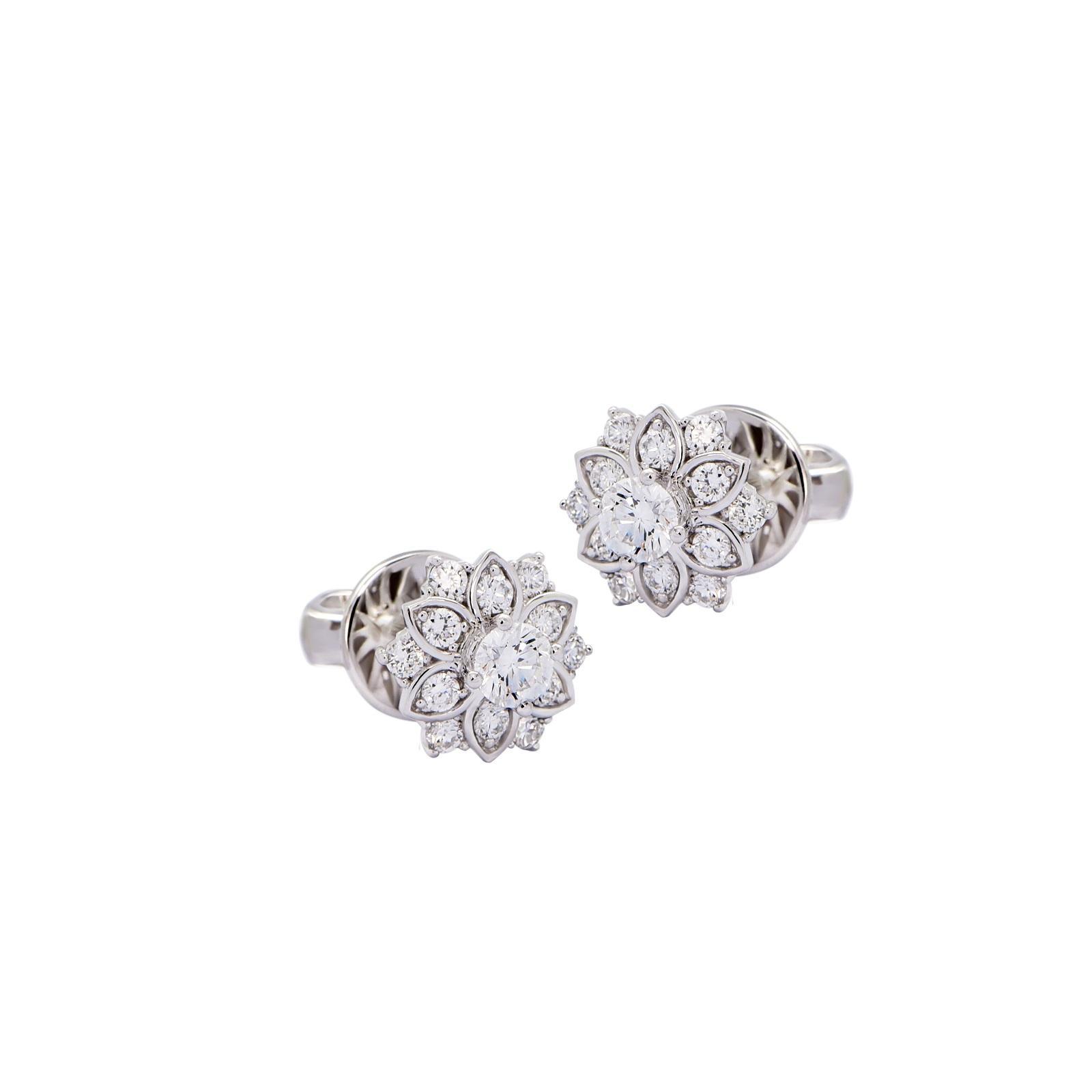 Bông tai đá Kim cương 20B177.1TH