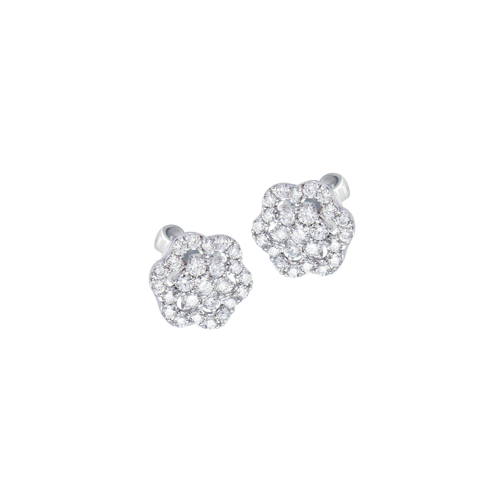 Bông tai đá Kim cương 20B179.1TH