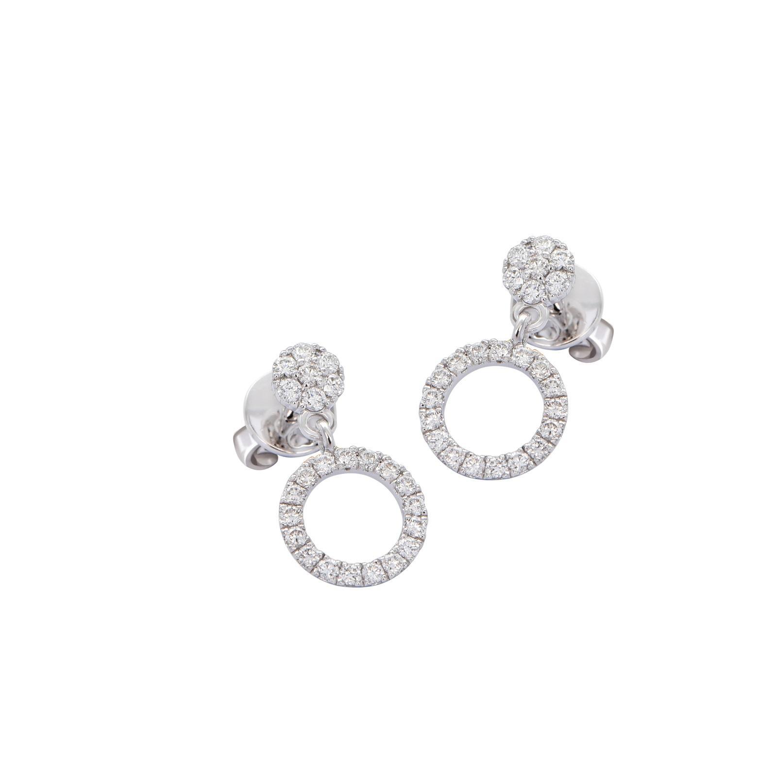 Bông tai đá Kim cương 20B186.1TH