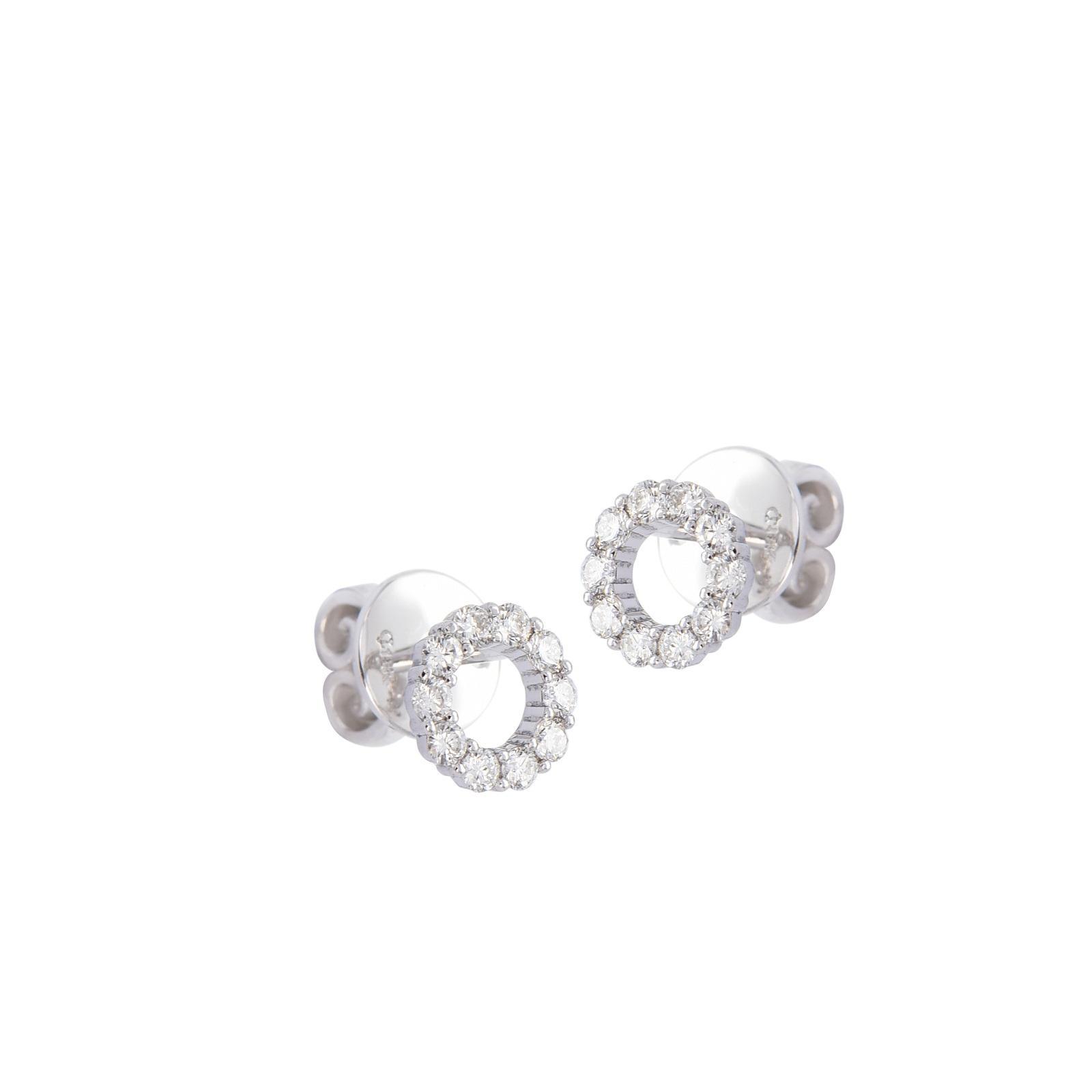 Bông tai đá Kim cương 20B187.1TH