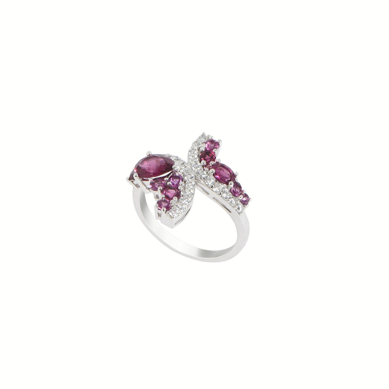 Nhẫn đá Rhodolite 20N086.4NA