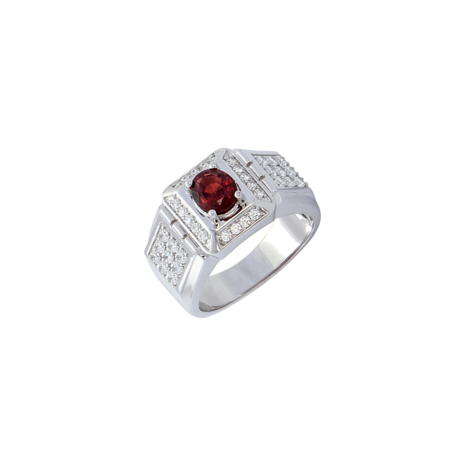 Nhẫn nam đá Garnet 20NN106.4NA