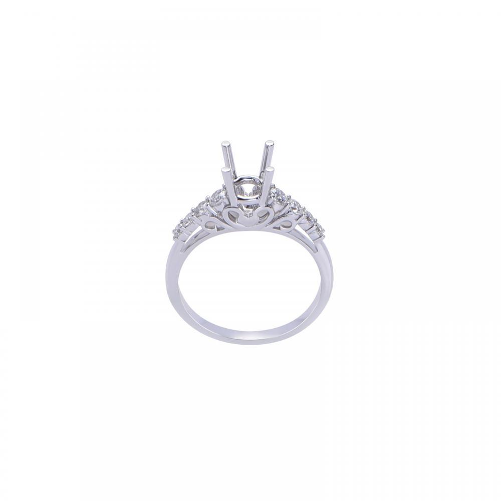 Vỏ nhẫn đá Kim cương 21N072