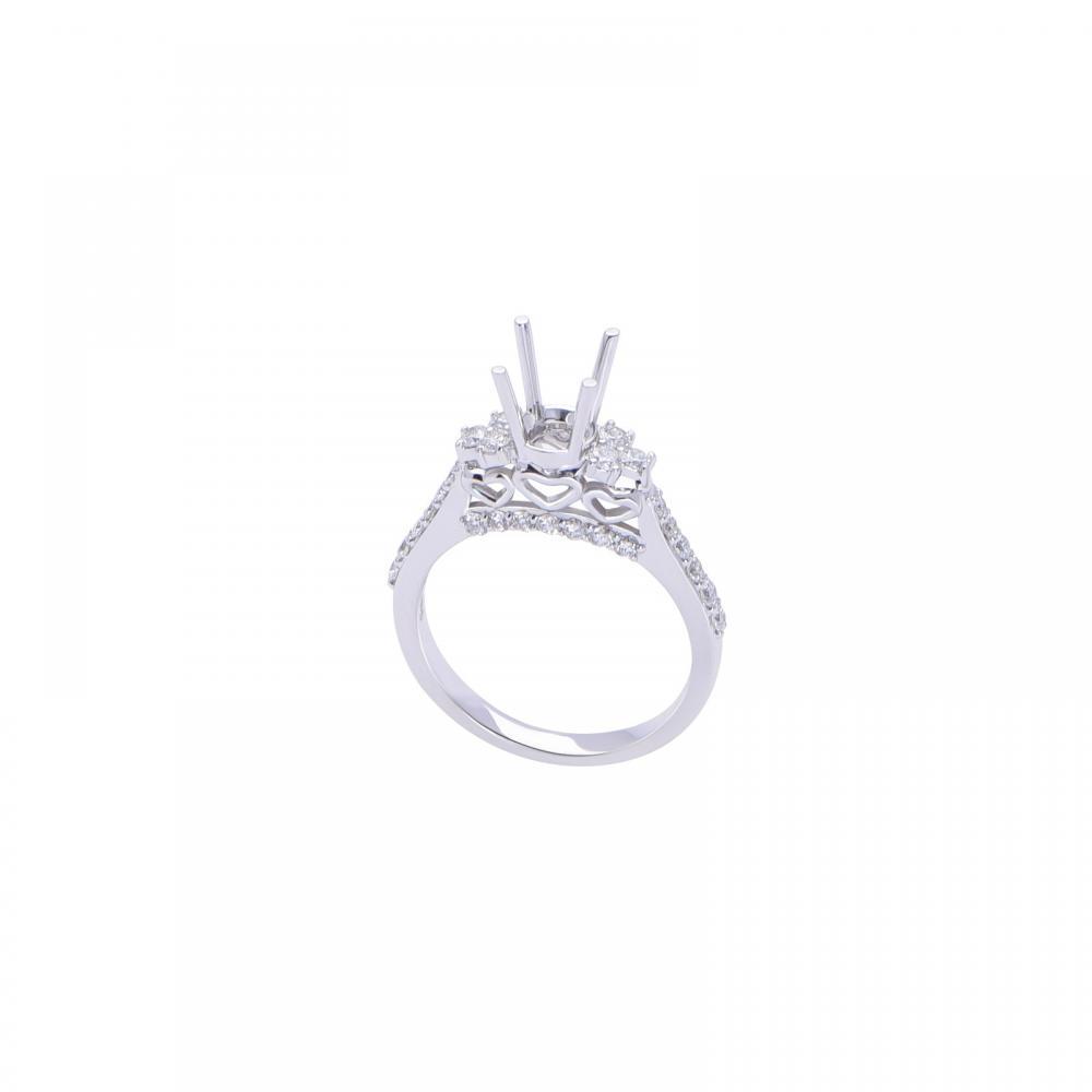 Vỏ nhẫn đá Kim cương 21N077