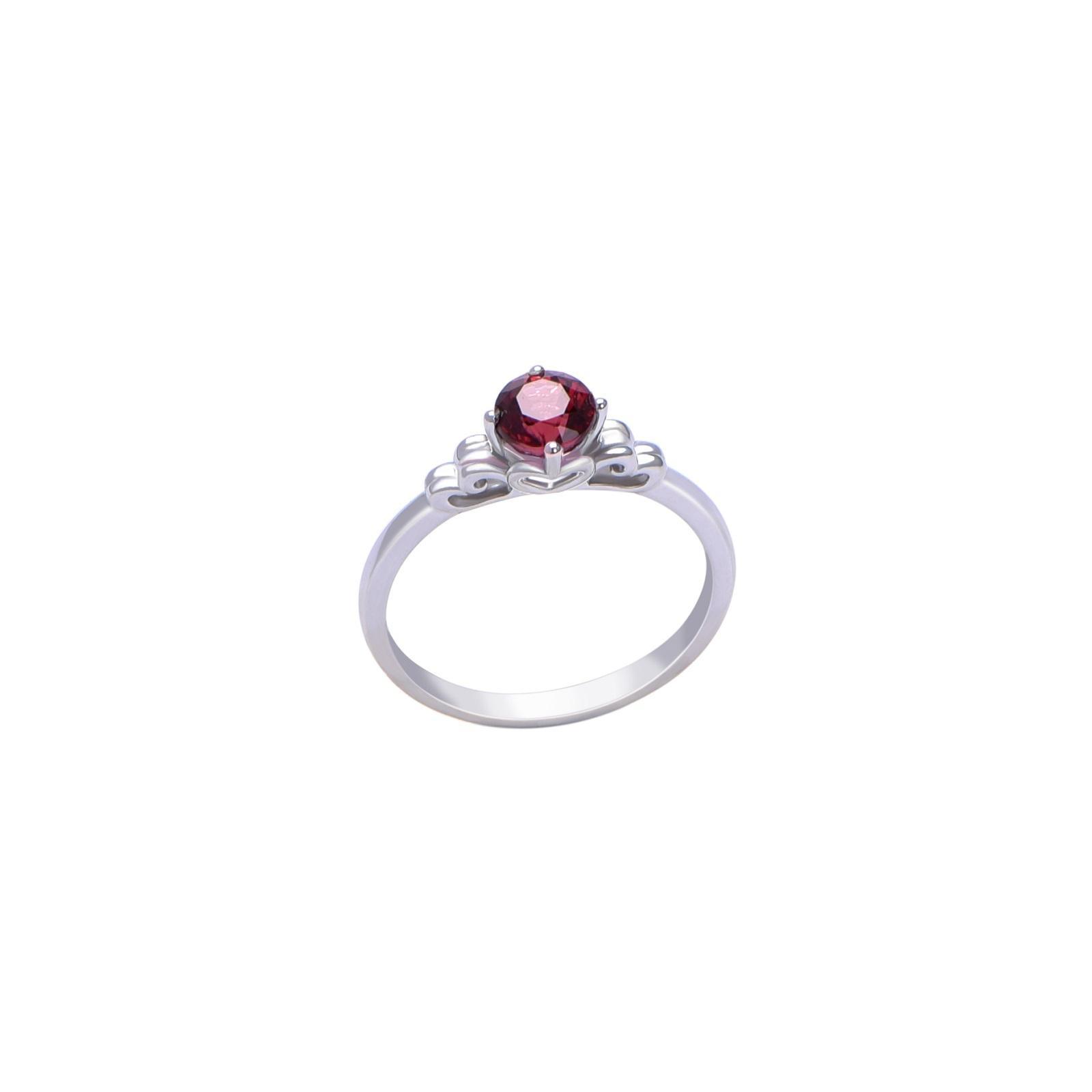 Nhẫn đá Garnet 21N030