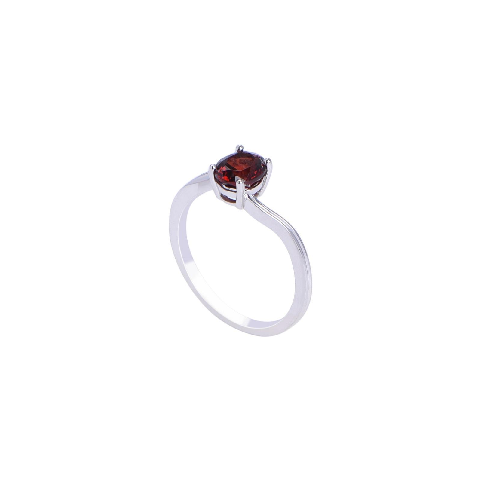 Nhẫn đá Garnet 21N036