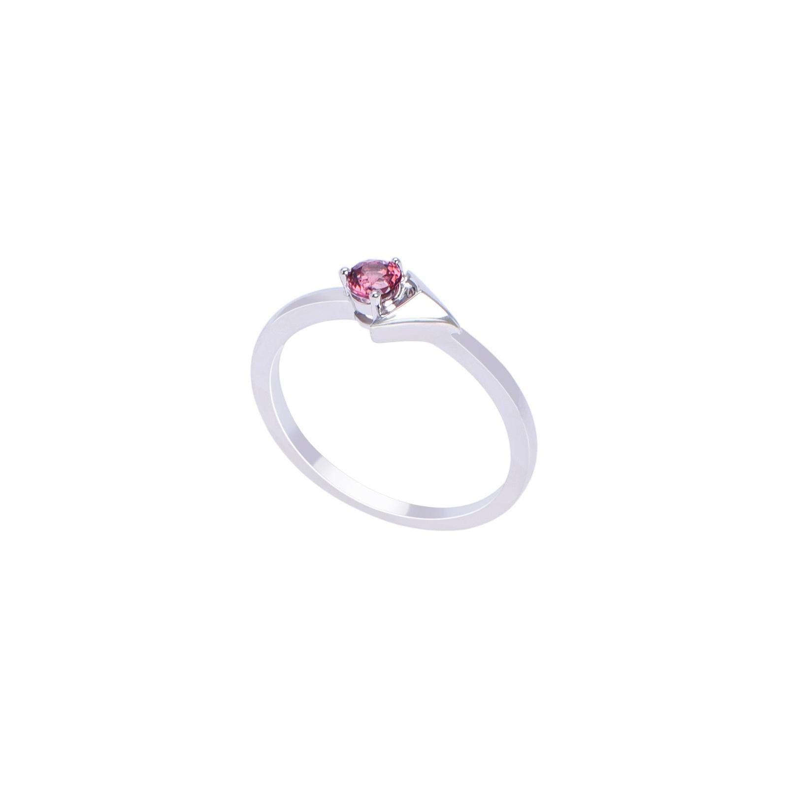 Nhẫn đá Garnet 21N045