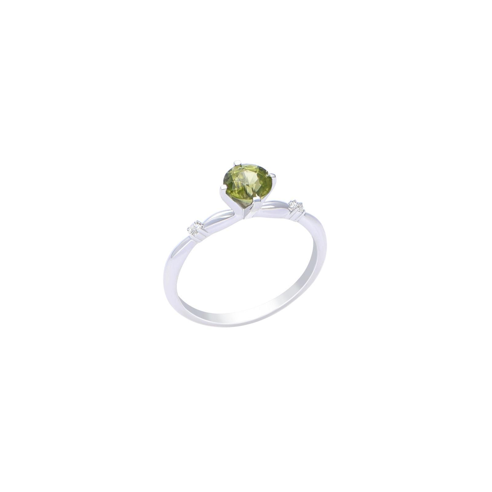 Nhẫn đá Peridot 21N025