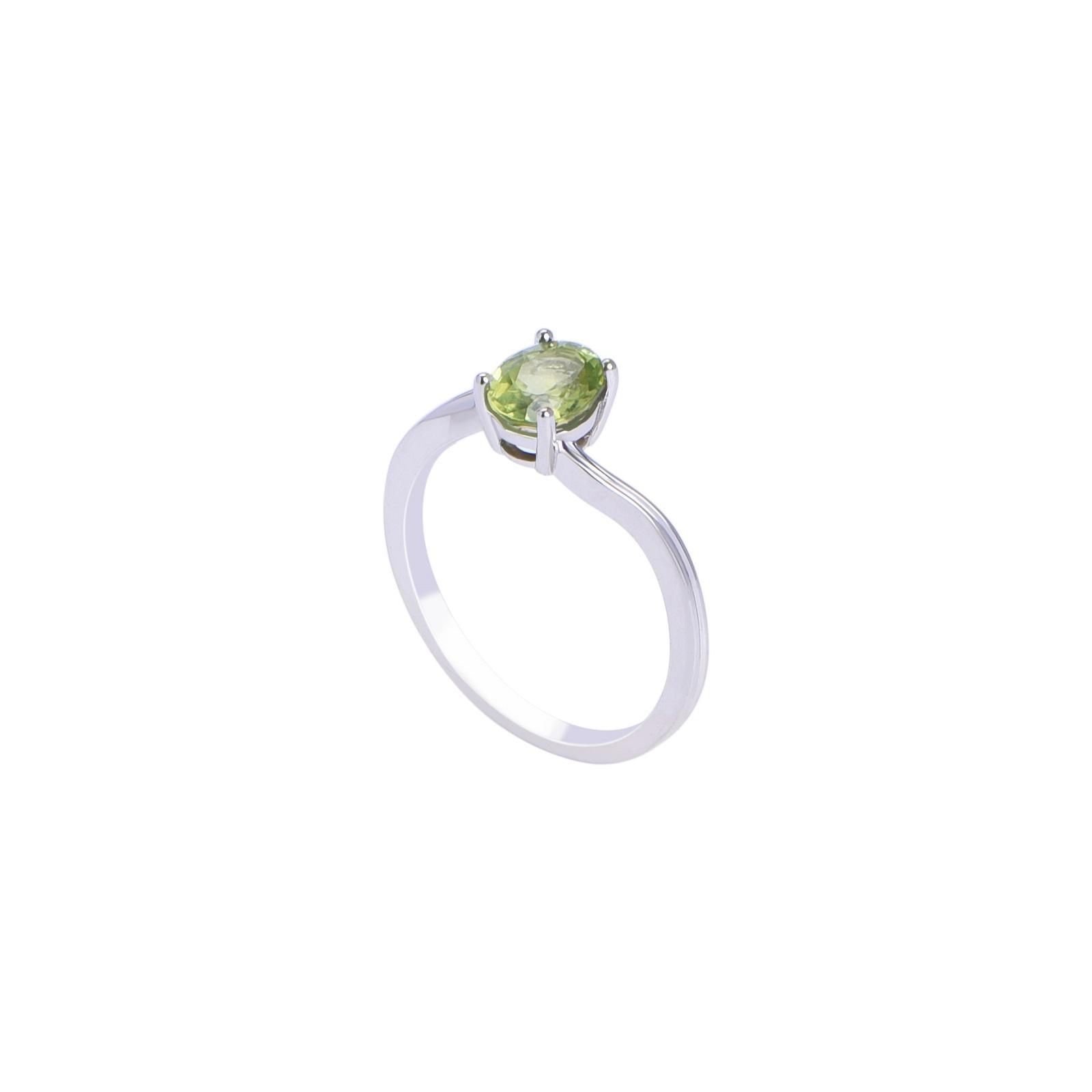 Nhẫn đá Peridot 21N036