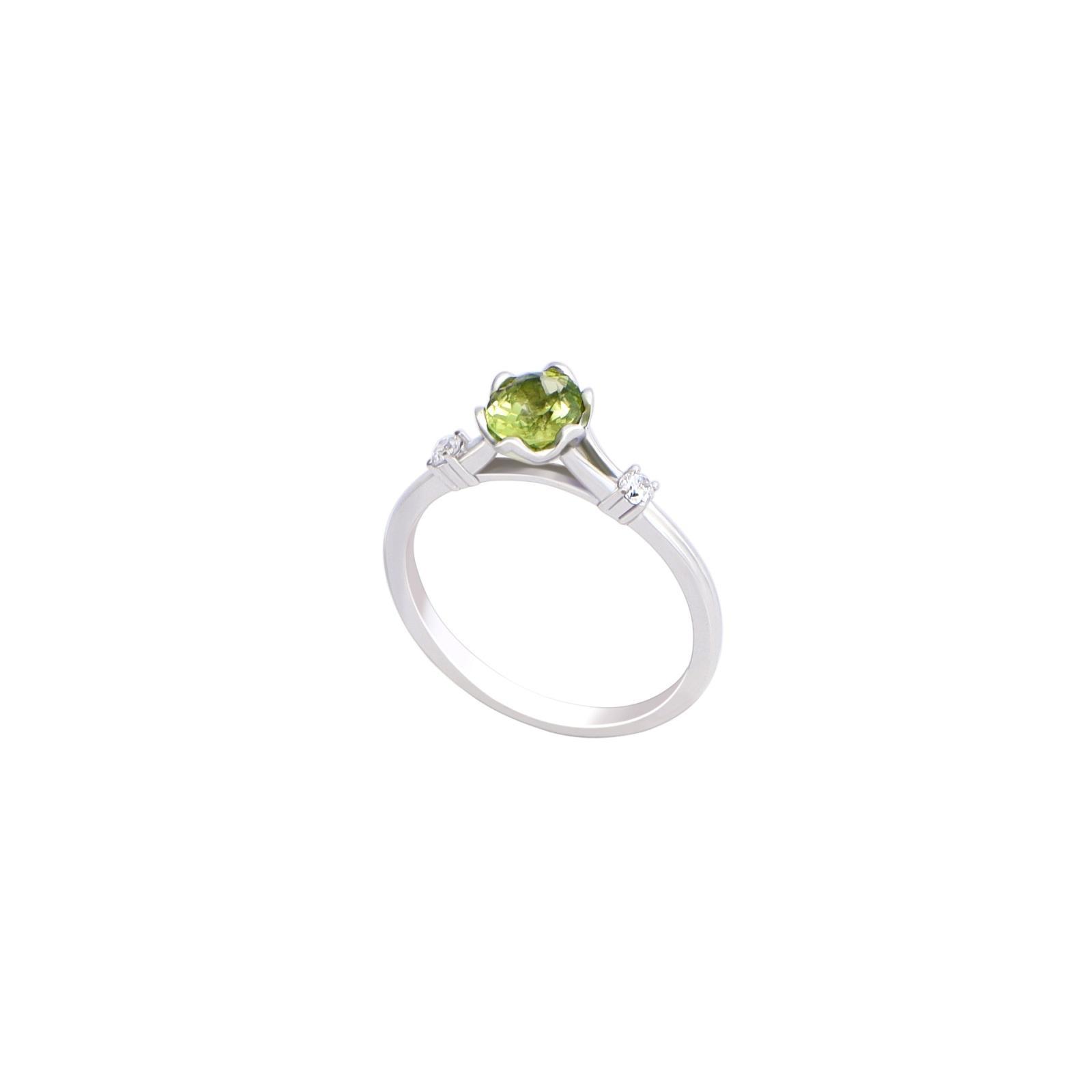 Nhẫn đá Peridot 21N037