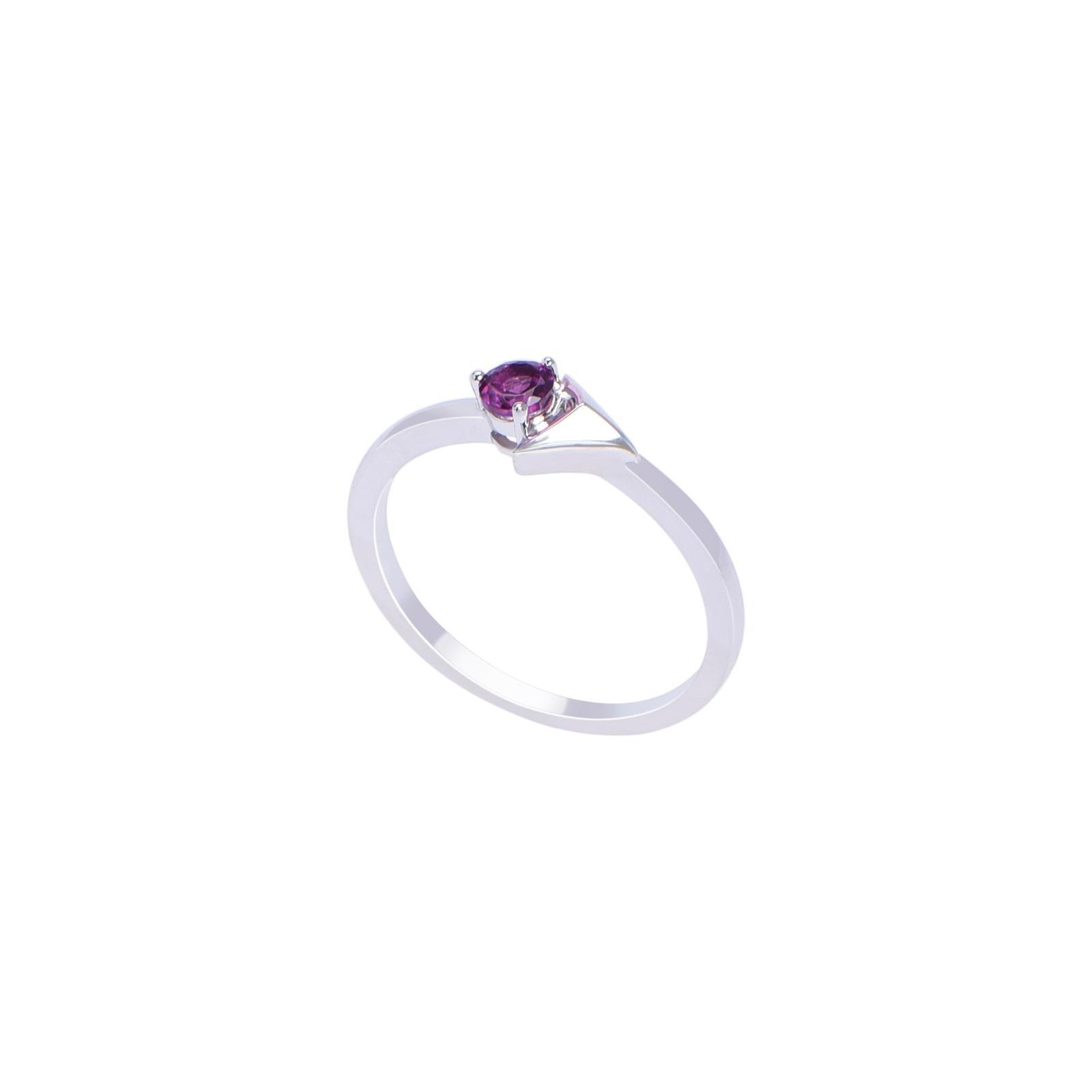 Nhẫn đá Rhodolite 21N045