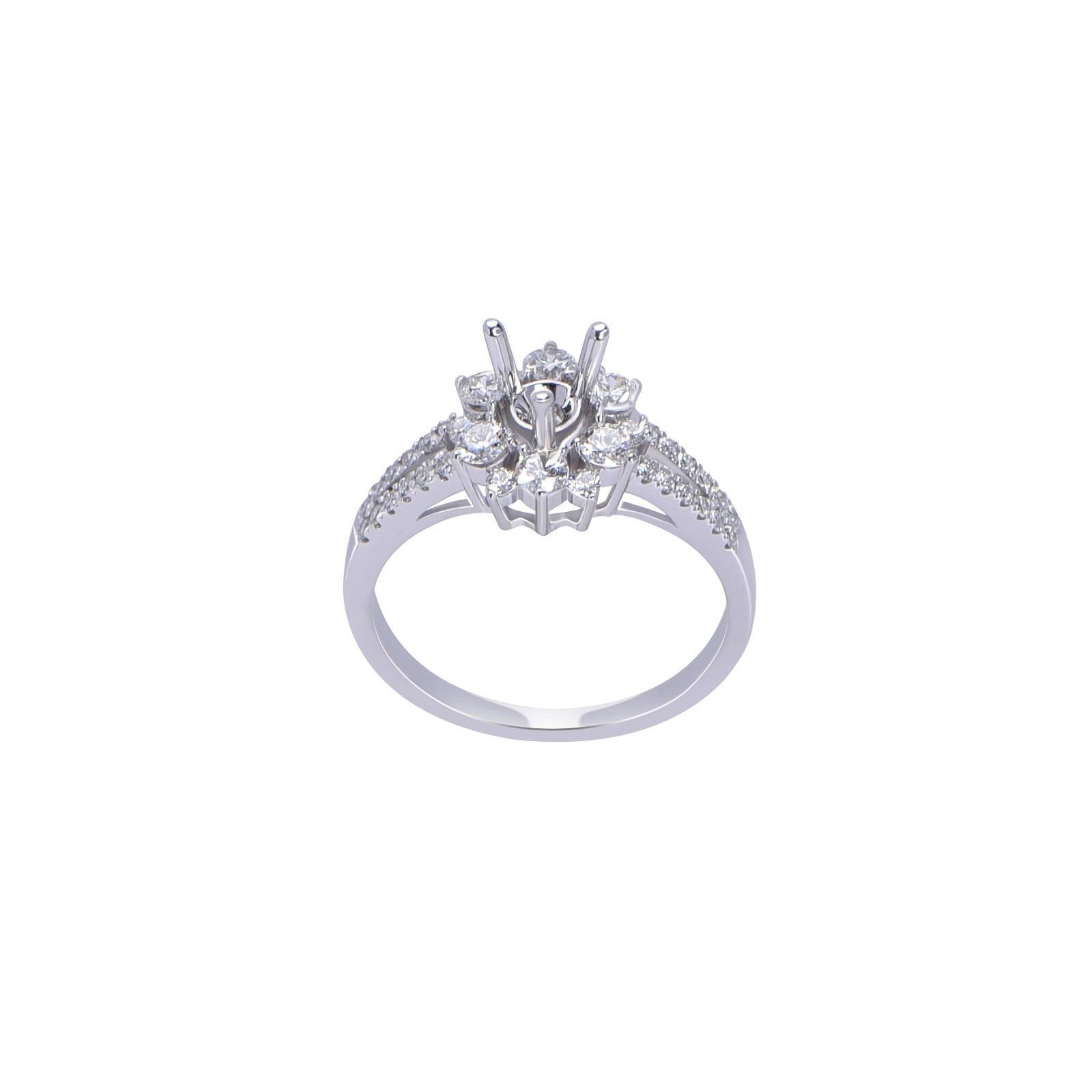 Vỏ nhẫn đá Kim cương 21N071