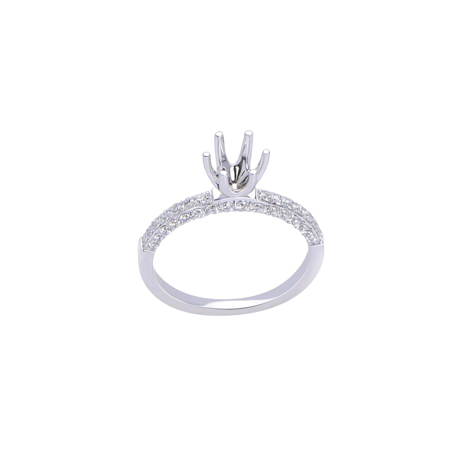 Vỏ nhẫn đá Kim cương 21N076