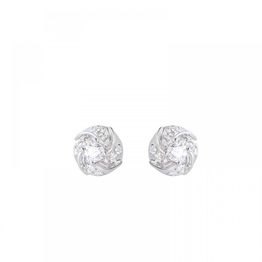 Bông tai đá Kim cương 21B063