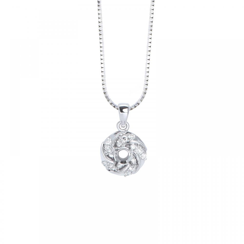 Mặt dây đá Kim cương 21M045