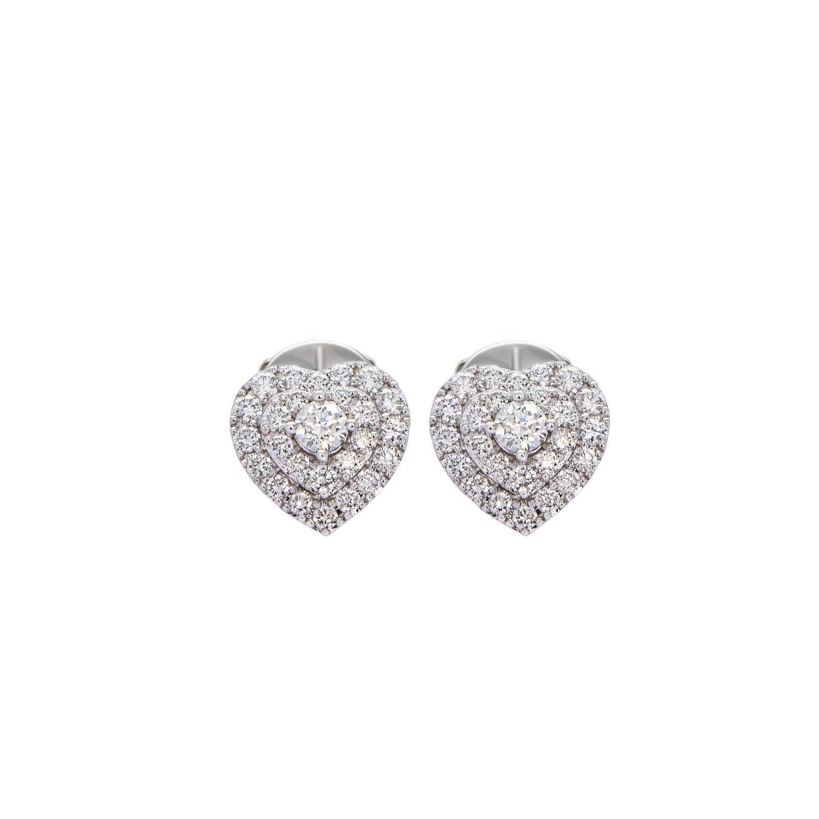 Bông tai đá Kim cương 20B155.1TH