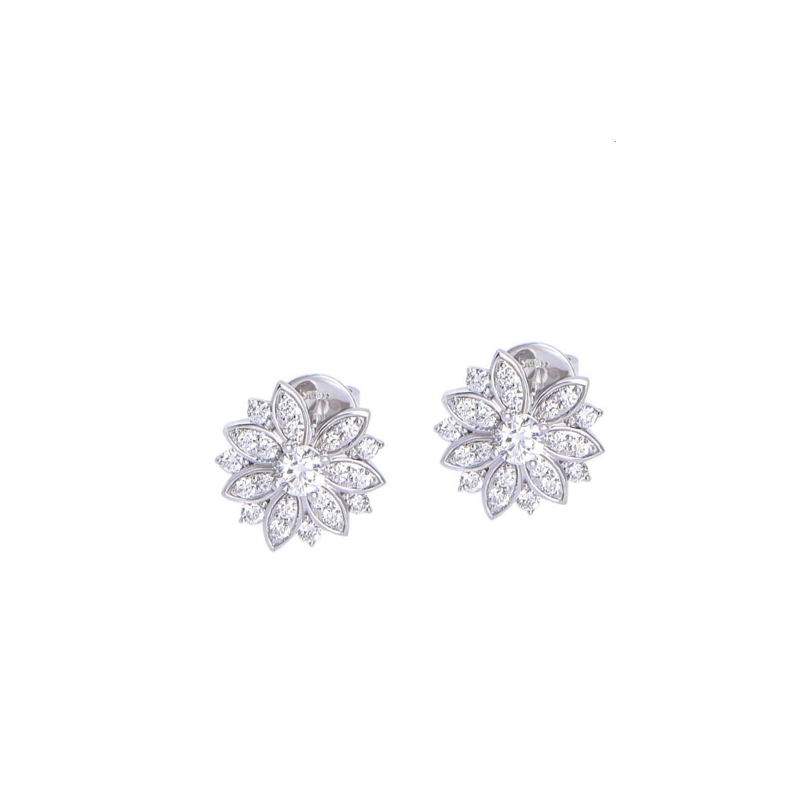 Bông tai đá Kim cương 21B058