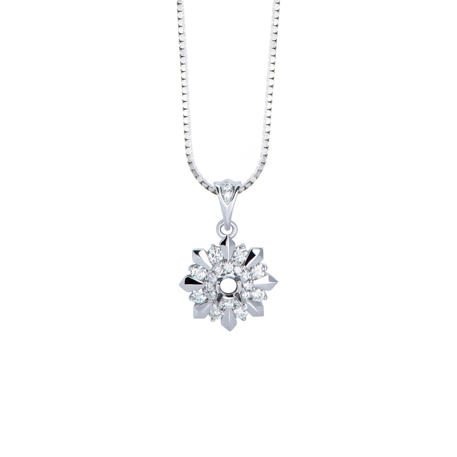 Mặt dây đá Kim cương 21M046