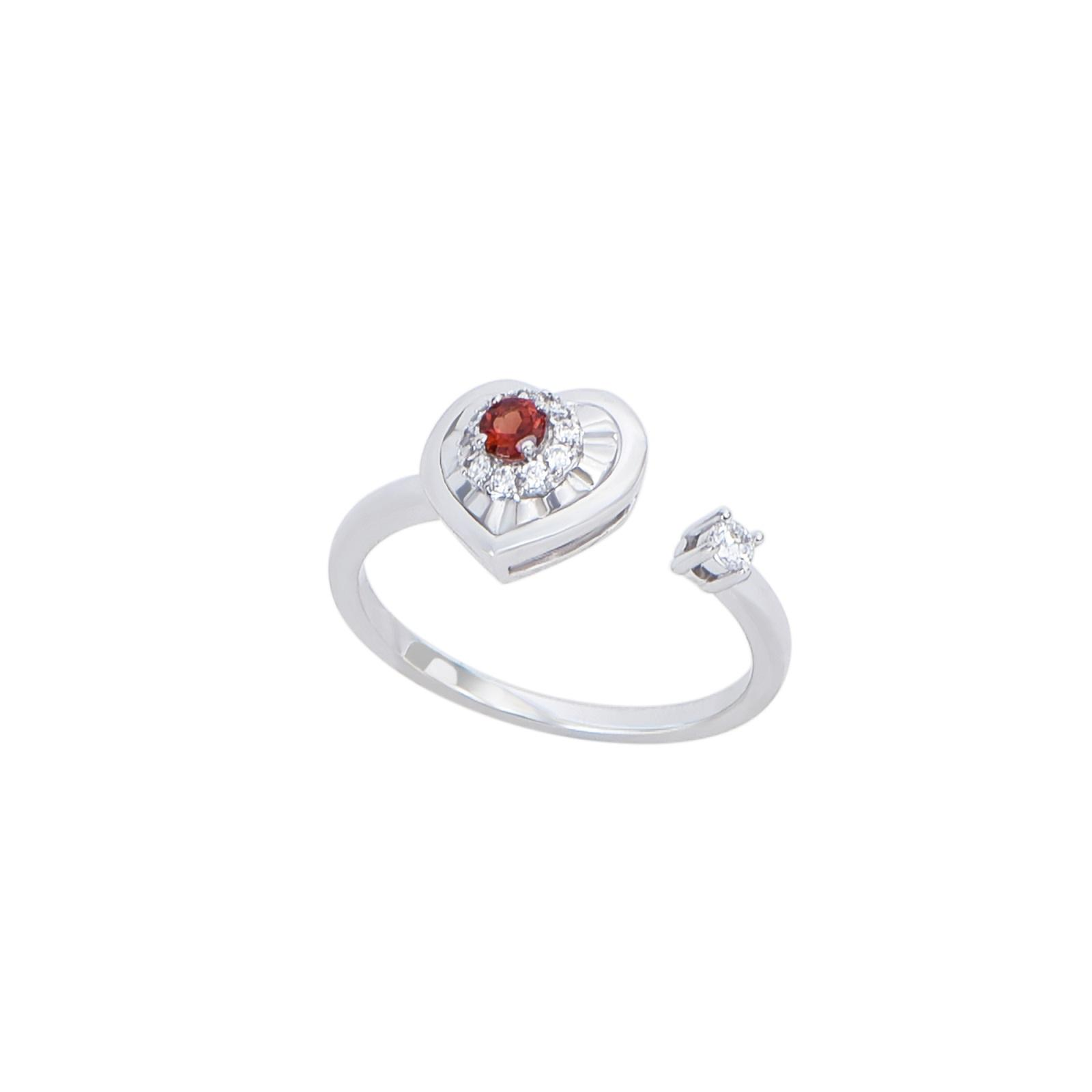 Nhẫn đá Garnet 20N.003NMB