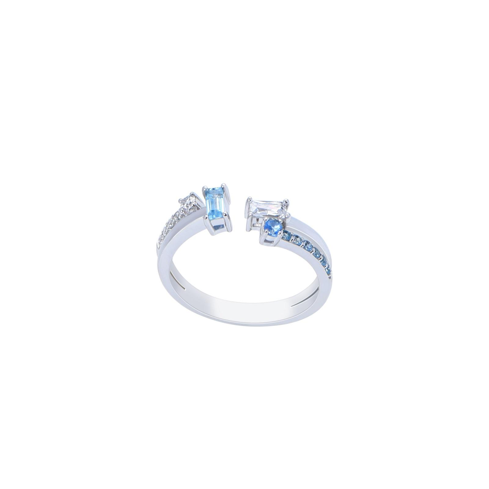 Nhẫn đá Topaz 21N080