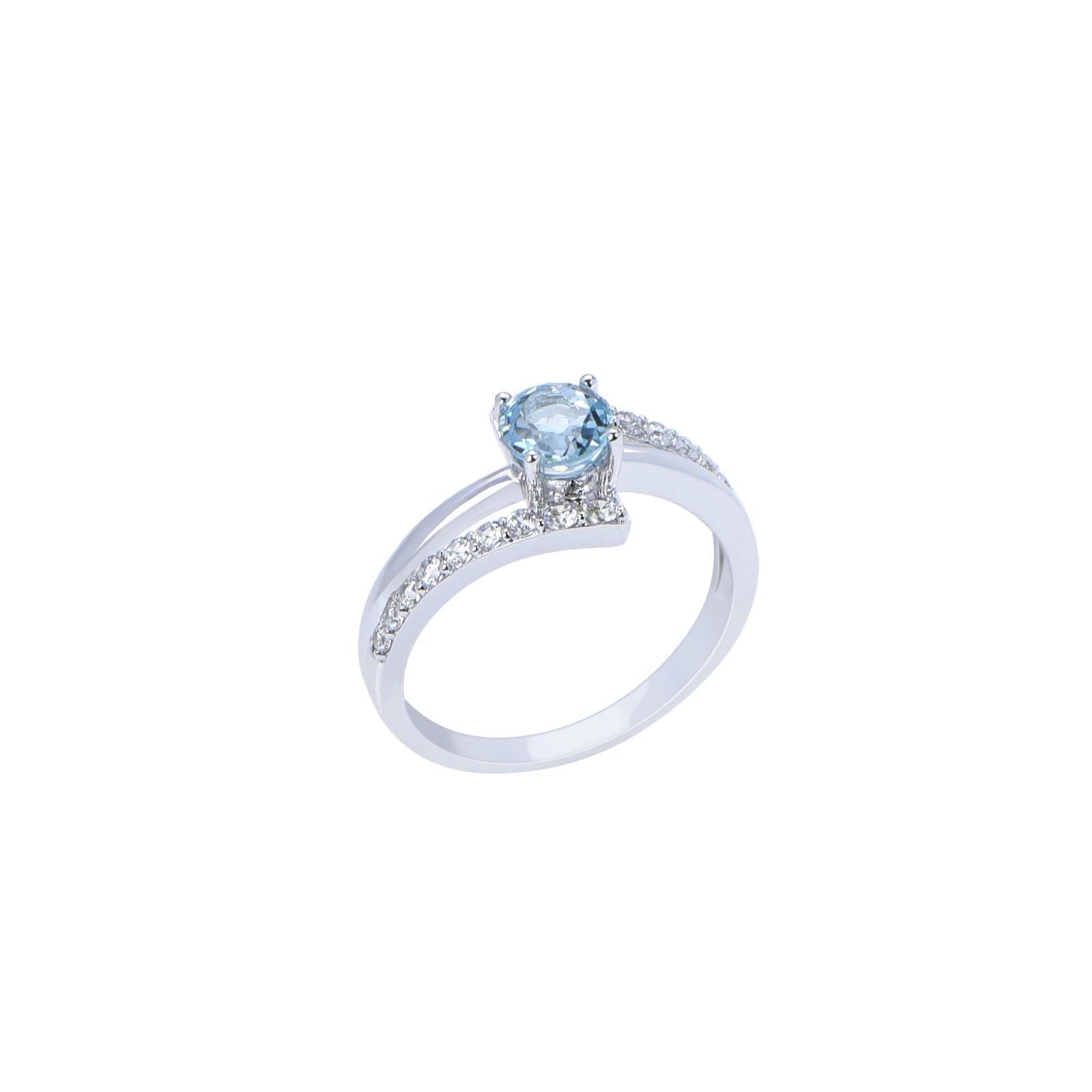 Nhẫn đá Topaz 21N082