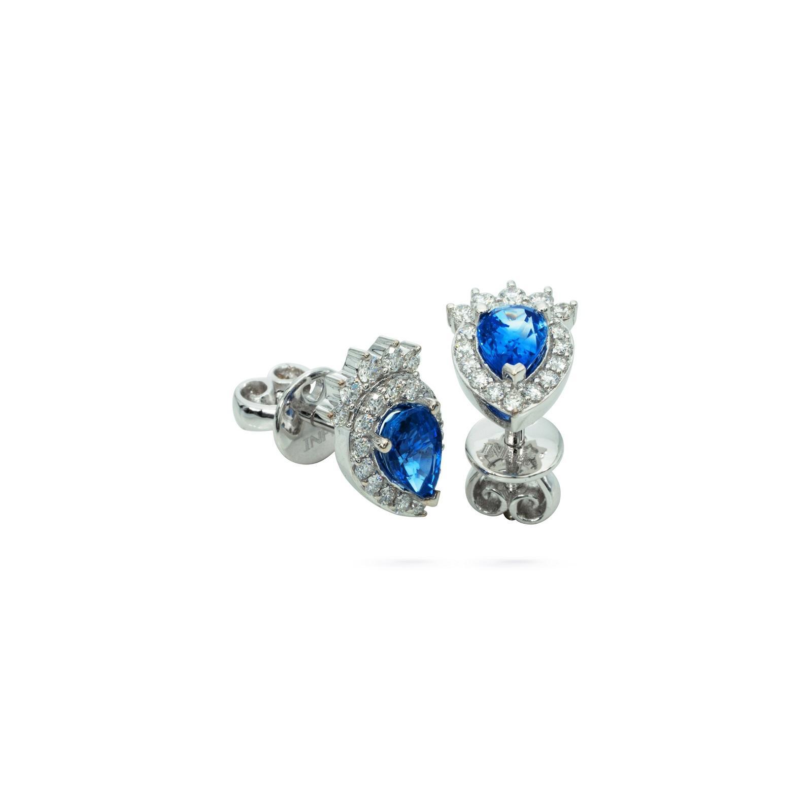 Bông tai đá Sapphire 20B024.3TU