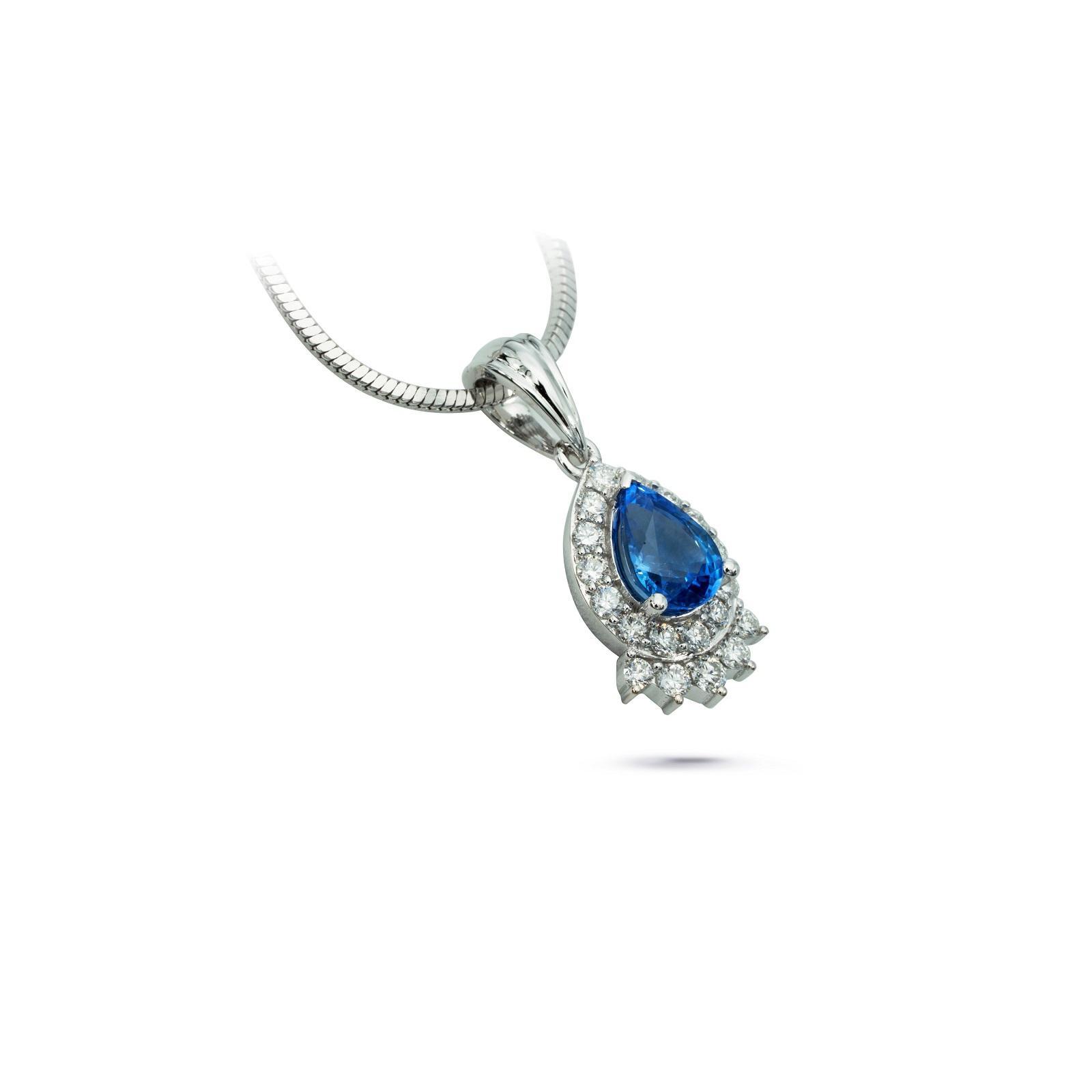 Mặt dây đá Sapphire 20M024.3TU