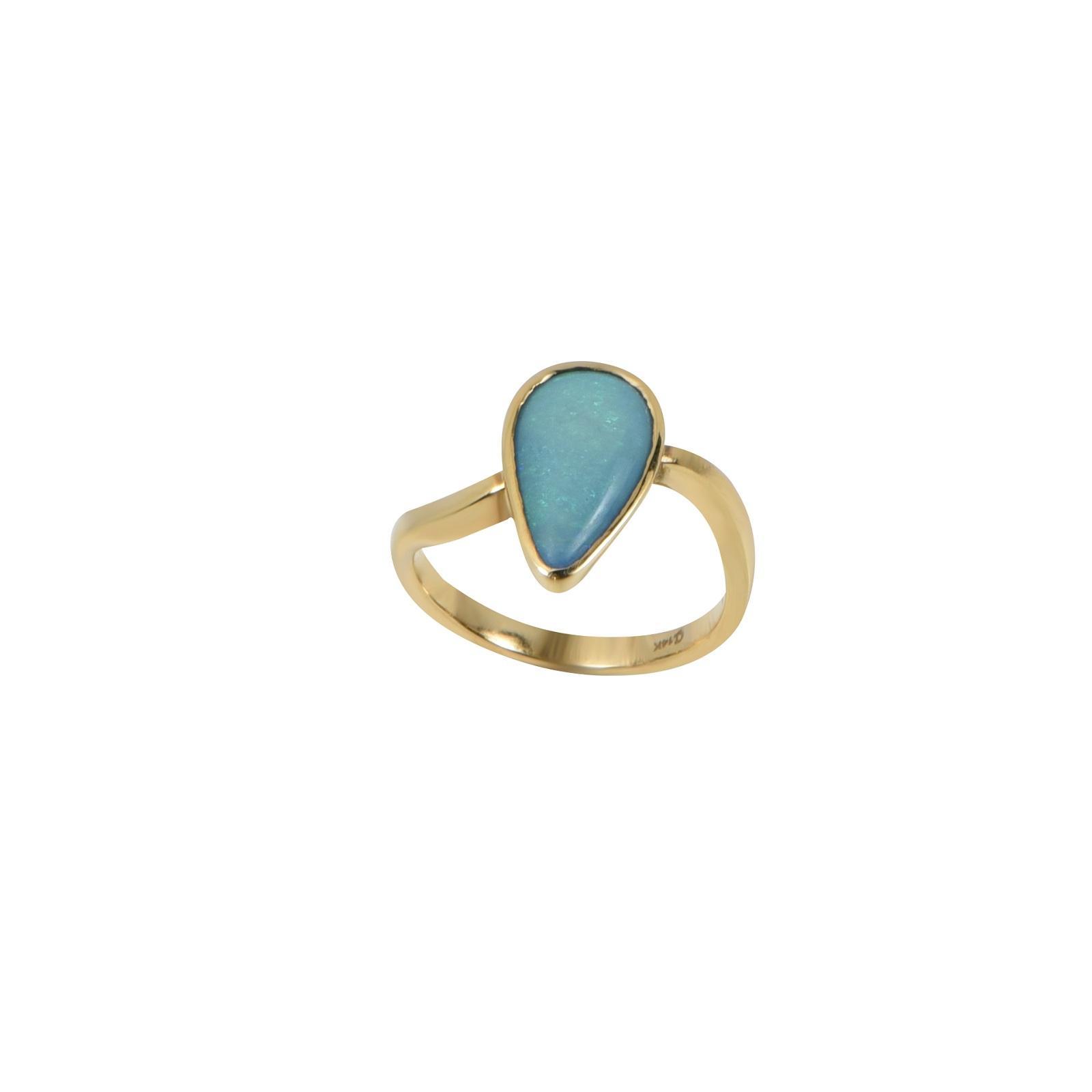 Nhẫn đá Opal QR0095.C61