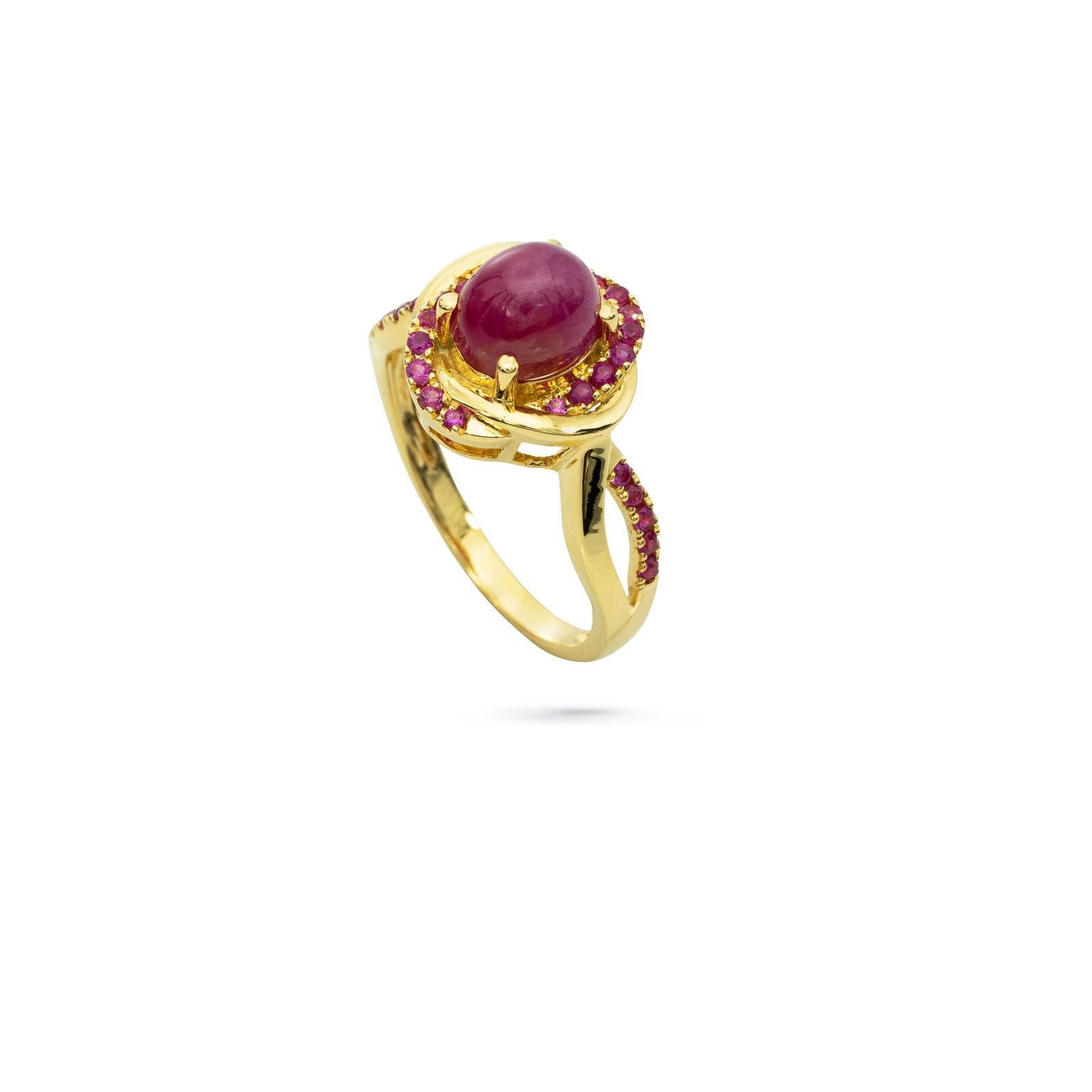 Nhẫn đá Ruby 20N016.1TH