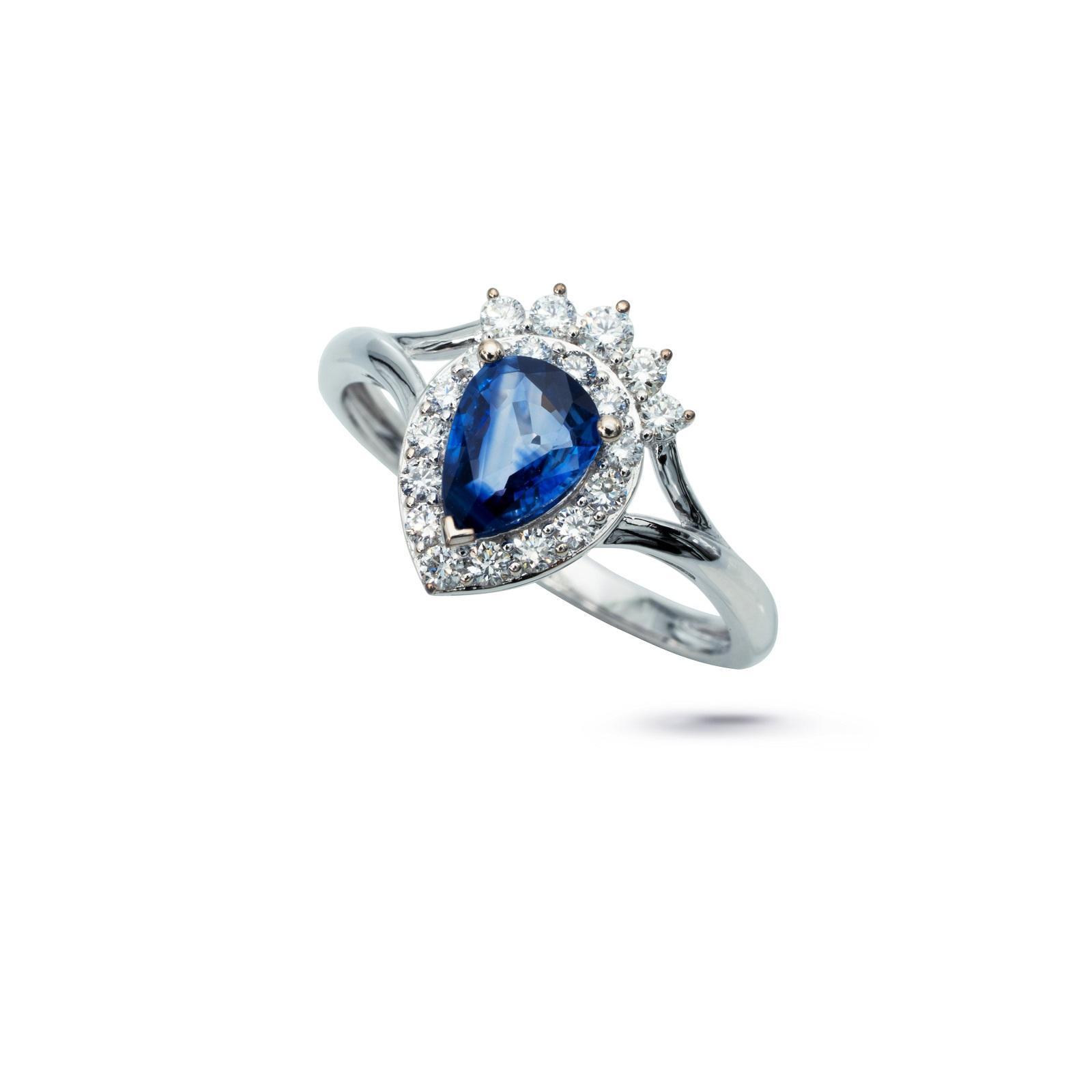 Nhẫn đá Sapphire 20N024.3TU