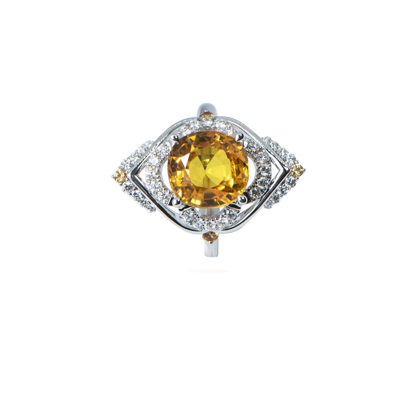 Nhẫn đá Sapphire 20N055.5TH