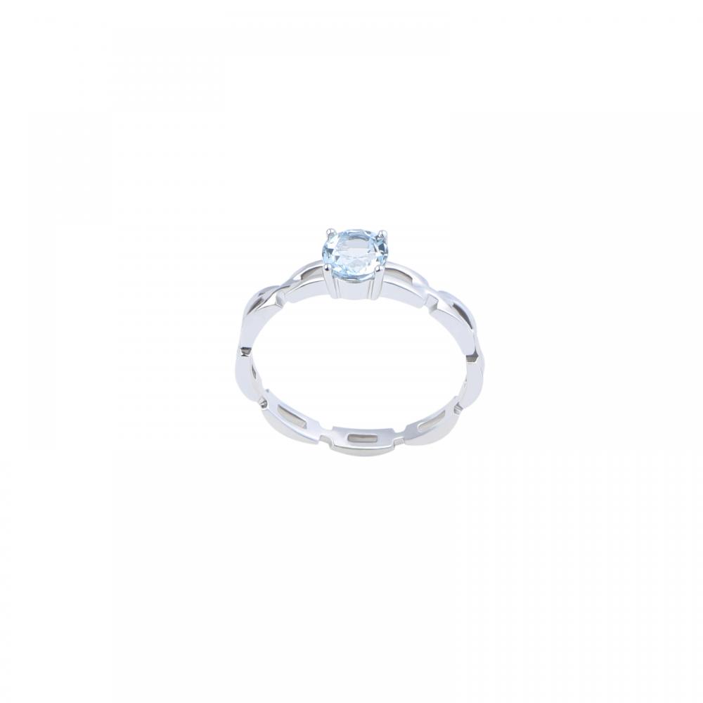 Nhẫn đá Topaz 21N066