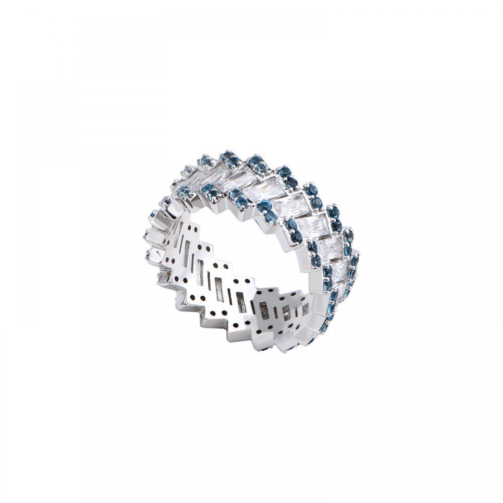 Nhẫn đá Topaz 21N165