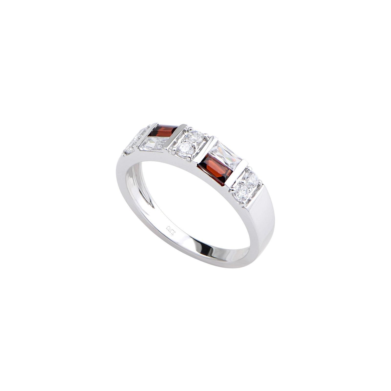 Nhẫn đá Garnet 21N162