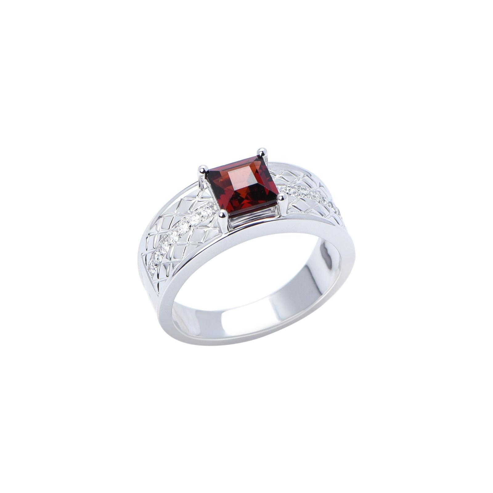 Nhẫn nam đá Garnet 21NN045