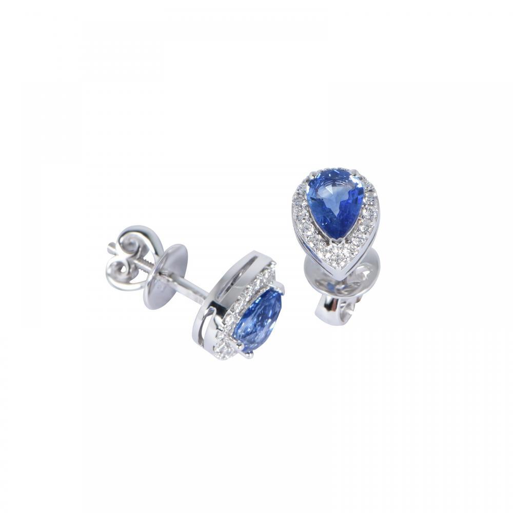 Bông tai đá Sapphire 20B053.6TY