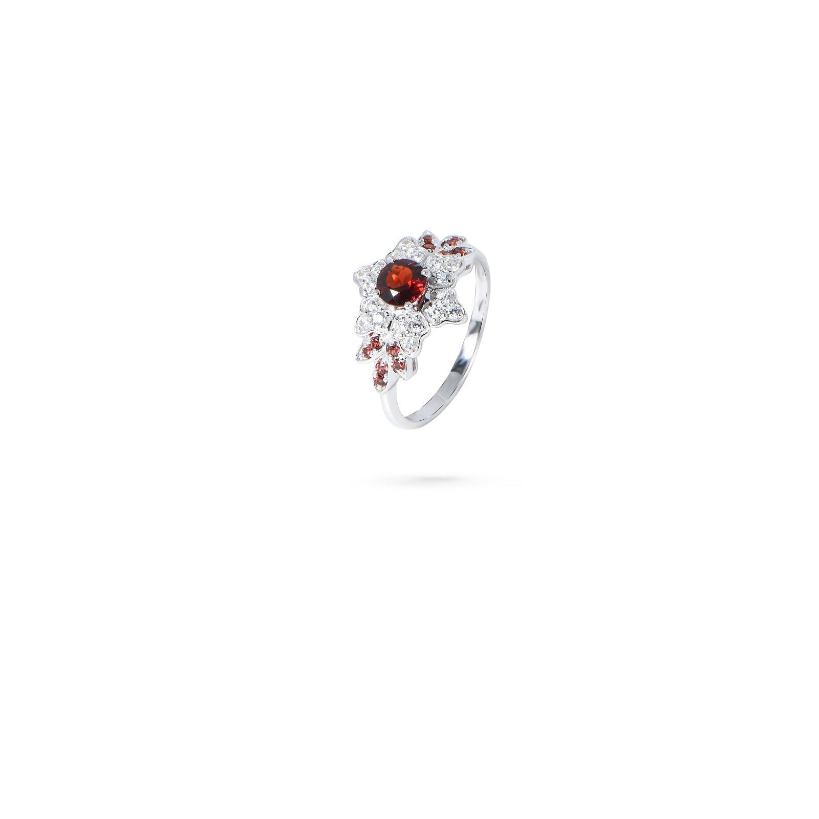 Nhẫn đá Garnet 20N027.2TI
