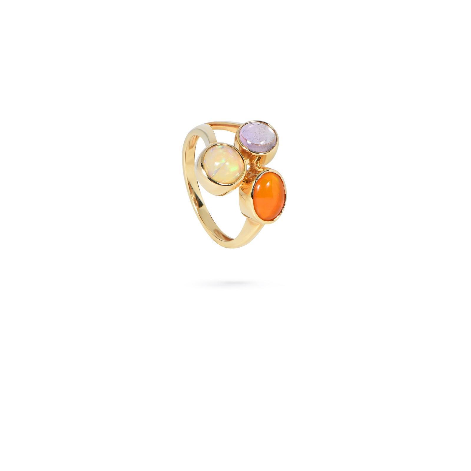 Nhẫn đá Tourmaline 20N025.6TY