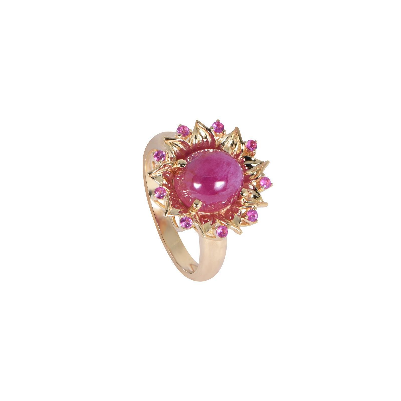 Nhẫn đá Ruby 20N007.4NA