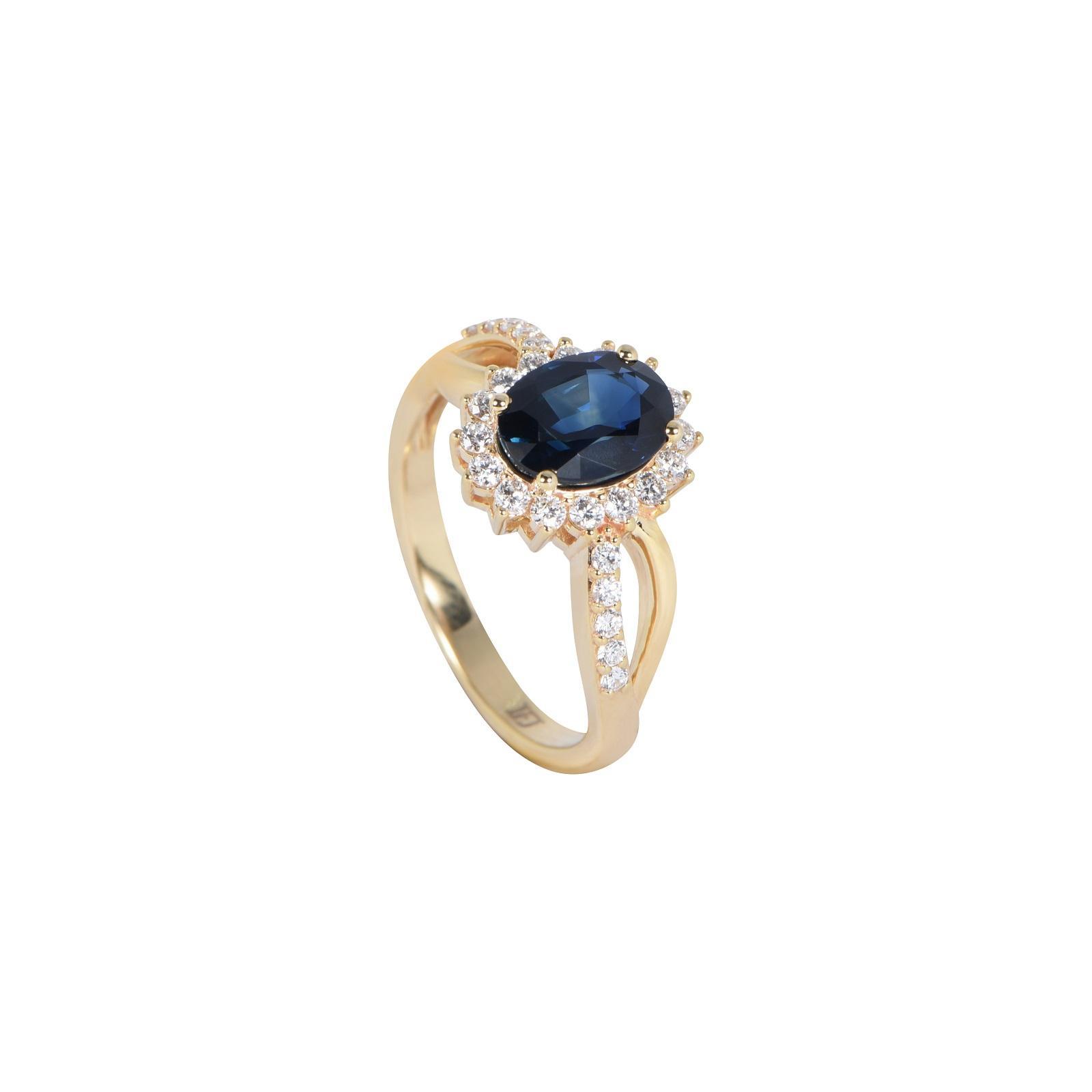 Nhẫn đá Sapphire 20N075.1TH