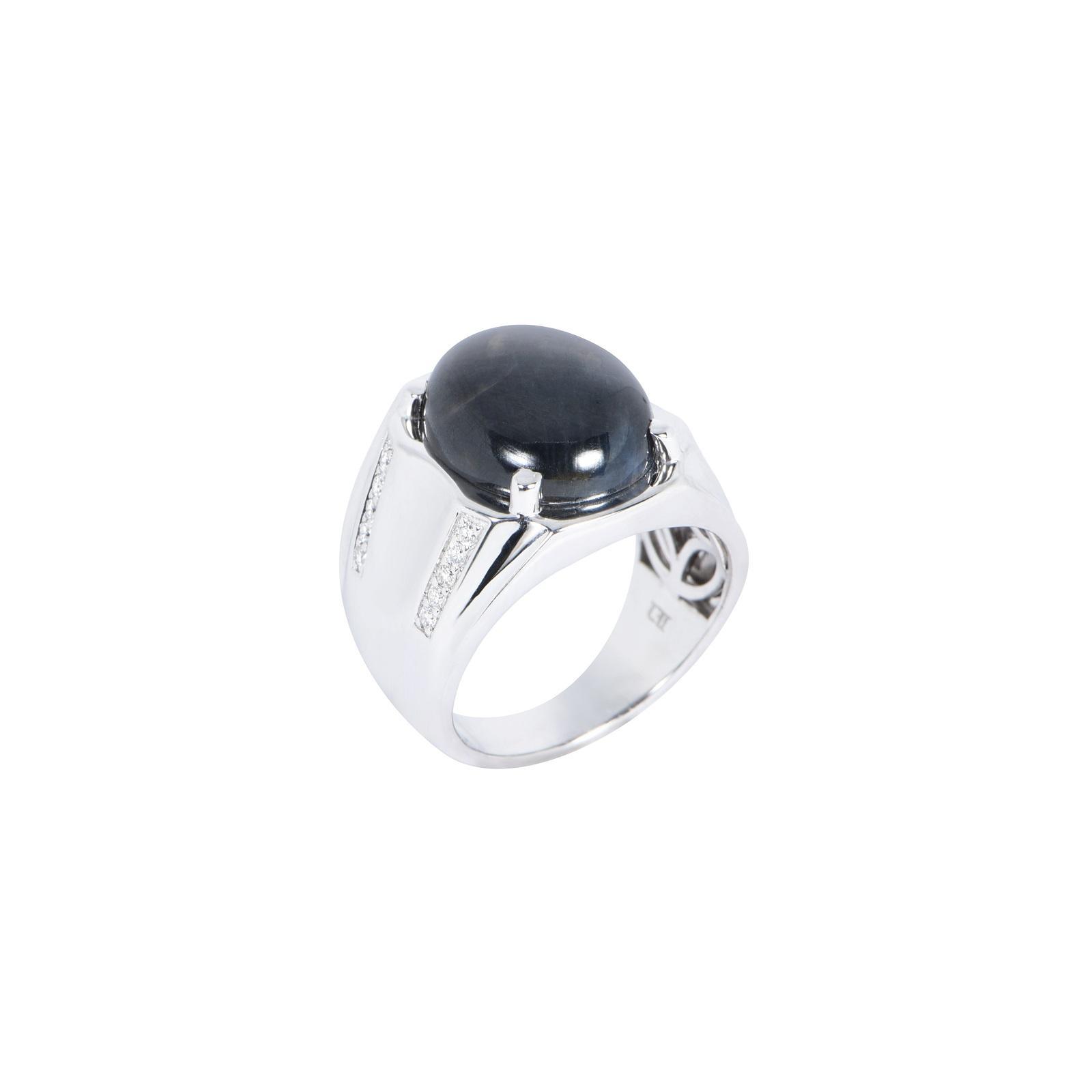 Nhẫn nam đá Sapphire 20NN026.5TH