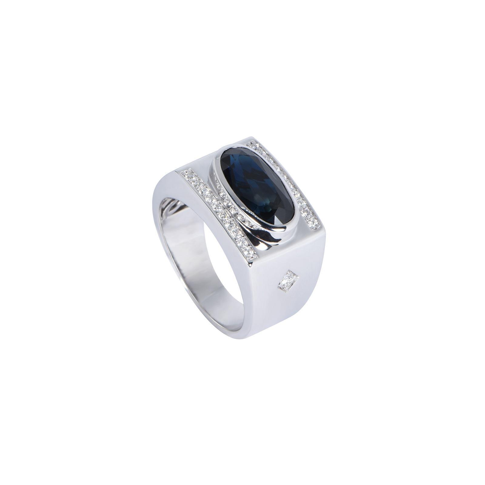 Nhẫn nam đá Sapphire 20NN029.1TH