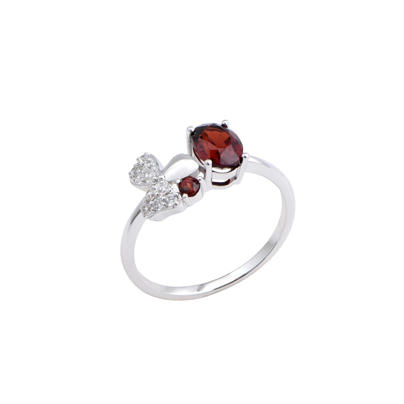 Nhẫn đá Garnet 21N.040NMB