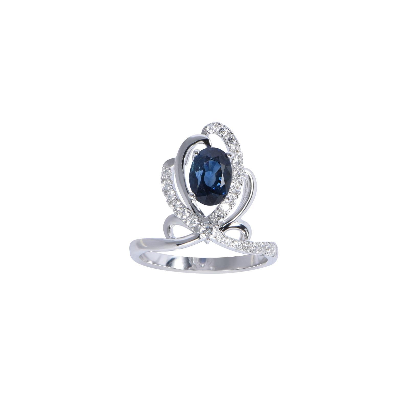 Nhẫn đá Sapphire 20N068.4NA