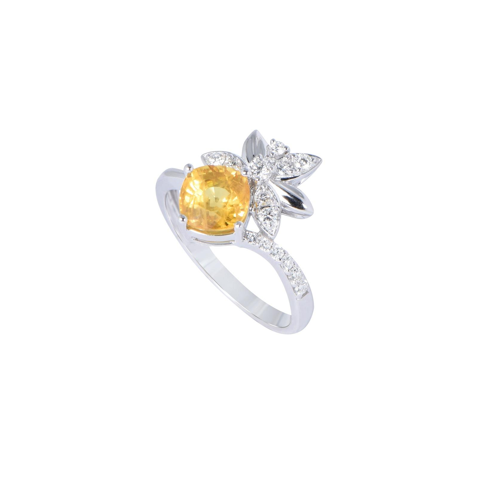 Nhẫn đá Sapphire 20N071.2TI