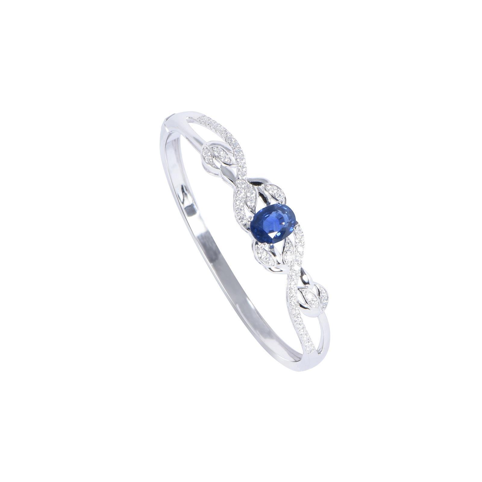 Vòng tay đá Sapphire 20V073.4NA